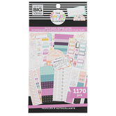 MAMBI, The Happy Planner Budget Stickers, 1,170 Stickers