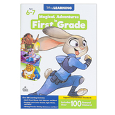 Carson Dellosa, Magical Adventures in First Grade Workbook, Grade 1, 256 Pages, Ages 6-7