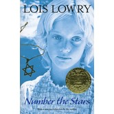 Number the Stars, by Lois Lowry, Paperback, Grades 5 and up