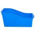 Storex, Large Book Bin, Blue, 14.30 x 5.30 x 7 Inches, 1 Piece