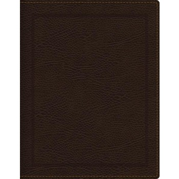 NKJV Journal The Word Bible, Bonded Leather, Brown