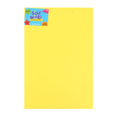 Silly Winks, Thick Foam Sheet, 12 x 18 inches, Neon Yellow