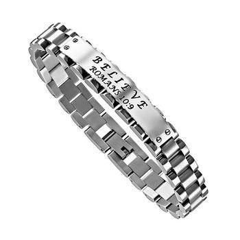 Spirit & Truth, Believe, Luxury Link Bracelet