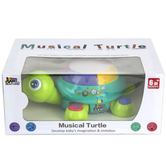 iPlay iLearn, Musical Turtle Toy, 9 1/2 x 6 1/2 inches