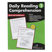 Chalkboard Publishing Workbooks, Daily Reading Comprehension, Paperback, 120 Pages, Grade 1