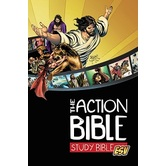 ESV Action Bible, Study Bible, Hardcover