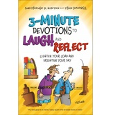 Pre-buy, 3-Minute Devotions to Laugh and Reflect, by Christopher D Hudson, Stan Campbell, & Dennis Fletcher
