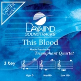 This Blood, Accompaniment Track, As Made Popular by Triumphant Quartet, CD