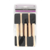 The Fine Touch, Foam Brush Set, 1 inch, 20 Count