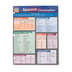 BarCharts, Spanish Conversation Laminated Quick Study, 8.5 x 11 Inches, 6 Pages, Grades 5 and up