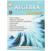 Carson-Dellosa, Algebra Quick Starts Workbook, 62 Pages, Grades 7 and up