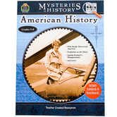 Teacher Created Resources, Mysteries In History: American History Activity Book, Grades 5-8
