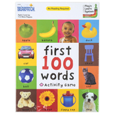Briarpatch, First 100 Words Activity Game, Supports 1 or More Players, Ages 2 & Older