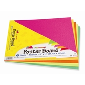 Pacon, Poster Board, 11 x 14 Inches, Neon Colors, 5 Pack