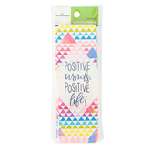 Renewing Minds, Positive Words Positive Life Bookmarks, 2 x 7 Inches, Pack of 36