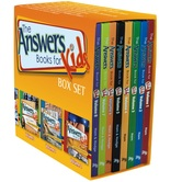 Answers for Kids Box Set, by Ken Ham, Bodie Hodge, and Cindy Malott, Box Set