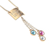 Modern Grace, Proverbs 31:28-29 Blessed Mom Pendant Necklace, Gold, 20-24 Inches
