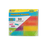 Teacher Created Resources, Confetti Labels Magnetic Accents, Reusable, 4.75 x 1.50 Inches, 20 Pack
