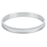Spirit & Truth, Matthew 19:26, All Things Are Possible, Women's Bracelet, Stainless Steel, 7 Inches
