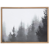Designs Direct Creative Group, Trees In Fog Framed Artwork, 24 x 18 inches
