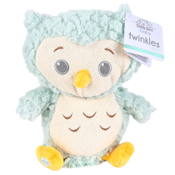 Cuddle Barn, Twinkles Owl Plush Toy, Multiple Colors Available, 10 inches