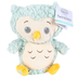 Cuddle Barn, Twinkles Owl Plush Toy, Mint Green, 10 inches