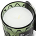 Darsee & David's, Sage Teakwood Diamond Patterned Jar Candle, Green, 10 ounces