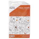 Renewing Faith, Fall Coloring Table Cover, Paper, 72 x 40 inches