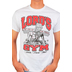 Red Letter 9, Lord's Gym, Men's Short Sleeve T-Shirt, White