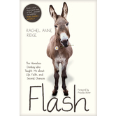 Flash: The Homeless Donkey Who Taught Me About Life, Faith, & Second Chances, by Rachel Anne Ridge