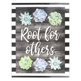 Schoolgirl Style, Simply Stylish Root for Others Chart, 17 x 22 Inches
