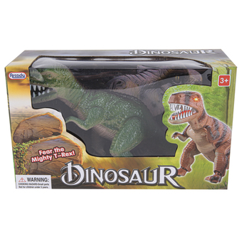 Arcady, Light & Sound Dinosaur, Plastic, 11 inches