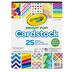 Crayola, Bright Pop Cardstock, Assorted Colors, 25 Sheets