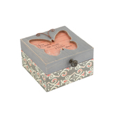 Pavilion Gift, Simple Spirits Someone Special Keepsake Box, MDF Wood, Gray, 5 x 3 x 4 1/2 inches
