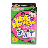 Trend, Word Monkeys Word Building Card Game, Ages 9 Years and Older, 1 to 4 Players
