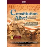 Constitution Alive! A Citizen's Guide to the Constitution, by David Barton and Rick Green, 4 DVD Set