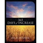 Pre-buy, 365 Days of Increase, by Rick Renner, Paperback