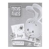 BJU Press, Focus on Fives K5 Write Now Handwriting, 4th Edition, Paperback, Grade Kindergarten