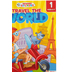 School Zone, Travel the World First Grade Adventure Tablet, Paperback, 240 Pages, Ages 6-7