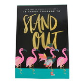 Renewing Minds, It's Easy To Stand In The Crowd Motivational Poster, 13.25 x 19 Inches, 1 Piece