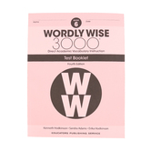 Wordly Wise 3000 4th Edition Test Booklet 6, Paperback, Grade 6
