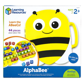 Learning Resources, AlphaBee, Multi-Colored, Ages 2 and Older