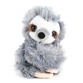 Wild Republic, Sloth Huggers Stuffed Animal, Gray, 8 inches