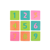 Renewing Minds, Calendar Days, Bebop Birdie, 2.7 x 2.7 inches, Bright Multi-colored, 36 Pieces