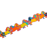 Eureka, Plaid Attitude Dogs Deco Trim, Extra Wide, Die-Cut, 37 Feet, Multi-Colored