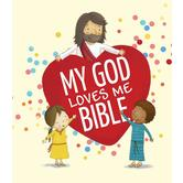 My God Loves Me Bible, by Cecilie Fodor and Gavin Scott, Board Book