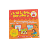 Scholastic, First Little Readers: Guided Reading Level A, Grades PreK-2nd, 25 Book Set, Paperback
