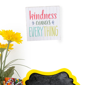 Retro Chic Collection, Kindness Changes Everything Desk or Wall Decor, 7 x 7 Inches