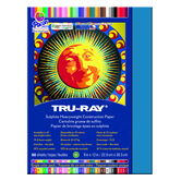 Tru-Ray® Sulphite Construction Paper, 9 x 12 inches, Blue, 50 Sheets