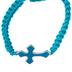 Faithworks, Threads of Faith Cross Braid Adjustable Bracelet, Assorted Colors, 8 inches